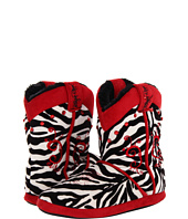M&F Western - Animal Print Cowboy Bootie Slippers