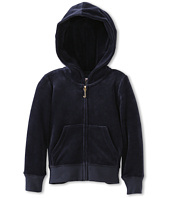 Juicy Couture Kids - Bow Cameo Velour Hoodie (Toddler/Little Kids/Big Kids)