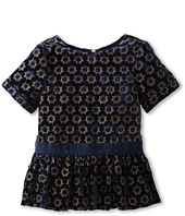 Juicy Couture Kids - Burnout Velvet Dress (Toddler/Little Kids/Big Kids)