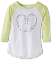 Roxy Kids - Anchored BL Raglan Tee (Big Kids)