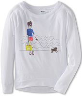 Roxy Kids - Skate Chick ND Raglan Tee (Big Kids)