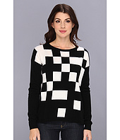 Autumn Cashmere - High Low Broken Pixel Sweater