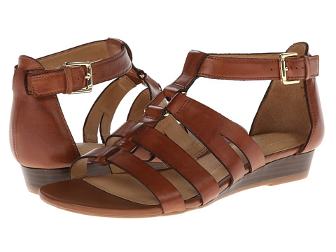 Naturalizer - Jansin (Saddle Tan Leather) Women's Dress Sandals