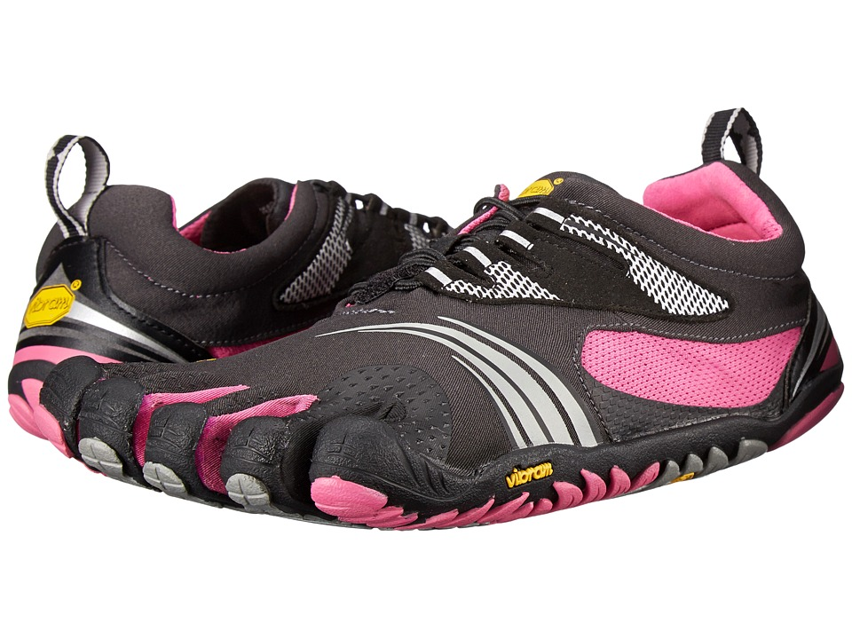 Vibram FiveFingers KMD Sport LS Grey/Black/Pink Womens Shoes