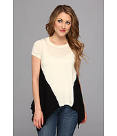 Autumn Cashmere - Two-Tone Drape Tee