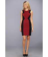 BCBGMAXAZRIA - Evelyn Blocked Sheath Dress