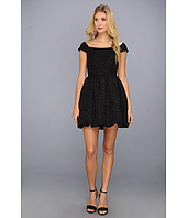 Jessica Simpson - Off Shoulder Short Sleeve Bubble Skirt Dress