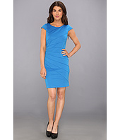 Jessica Simpson - Cap Sleeve Ray Dress with Seam Detailing