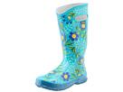 Bogs - Rainboot Floral (Turquoise Multi) -