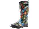Bogs - Rainboot Floral (Black Multi) -