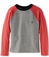 Volcom Kids - Spring Peaks L/S Raglan (Toddler/Little Kids)