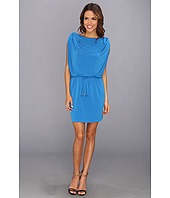 Jessica Simpson - Sleeveless Drawstring Dress with Shoulder Loop Tabs