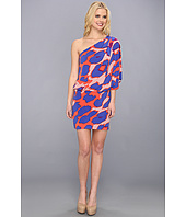 Jessica Simpson - One-Shoulder Printed Mini Dress