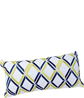 Trina Turk - Blue Peacock Diamond Pillow