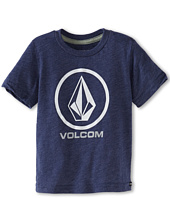 Volcom Kids - Circle Staple S/S Tee (Toddler/Little Kids)