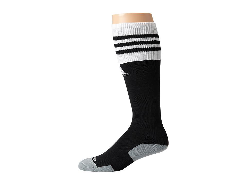 adidas - Copa Zone Cushion II Soccer Sock (Black/White) Knee High Socks Shoes
