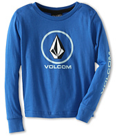 Volcom Kids - Circle Staple L/S Tee (Toddler/Little Kids)
