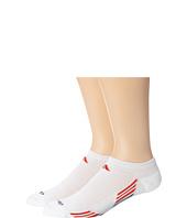 adidas - Climacool® X II 2-Pack No-Show Socks