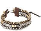 Lucky Brand Royal Jewels Mixed Two-Tone Faux Wrap Bracelet