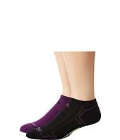 adidas - Climacool® II 2-Pack No-Show Socks