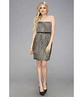 Jessica Simpson - Strapless Dress with Pointed Ruffle Skirt