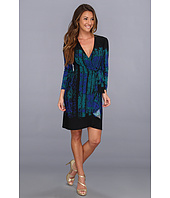 BCBGMAXAZRIA - Adele Printed Wrap Dress LNV6Y523