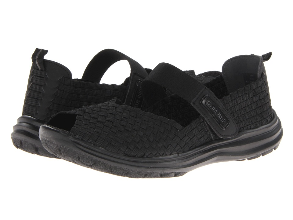 Cobb Hill Wink Black Womens Shoes