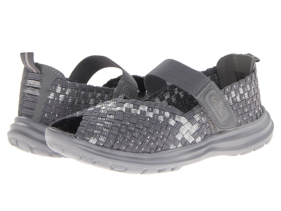 Cobb Hill Wink Grey/Silver Womens Shoes