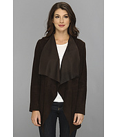 MICHAEL Michael Kors - Draped Open Suede Jacket