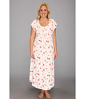 Carole Hochman - Plus Size Carnation Bouquets Long Nightgown
