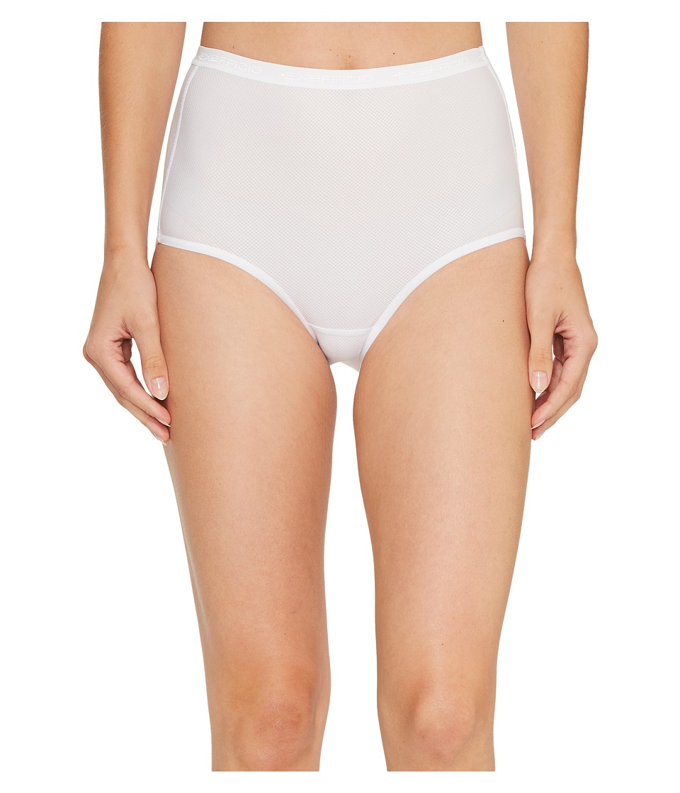 ExOfficio Give-N-Go(r) Full Cut Brief (White) Women