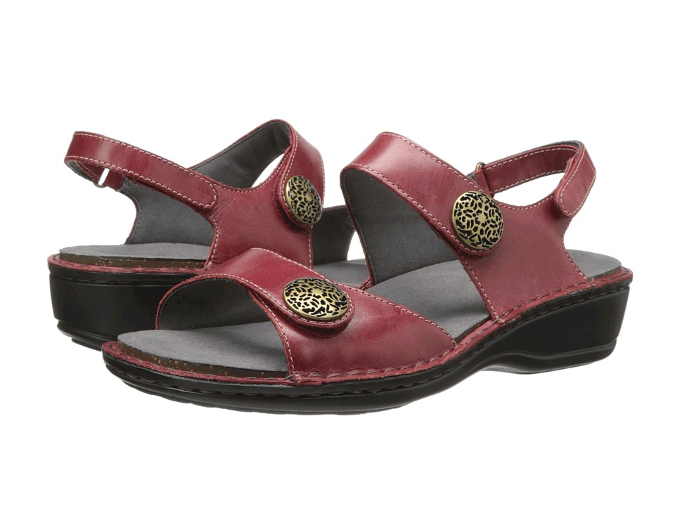 Aravon Candace (Dark Red) Sandals