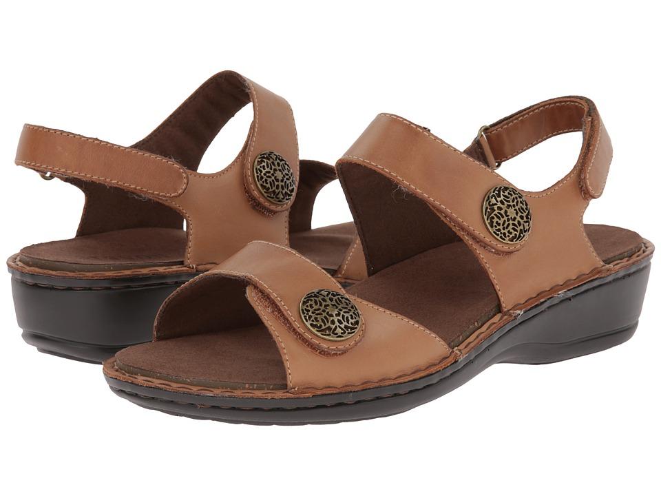Aravon Candace Tan Womens Sandals