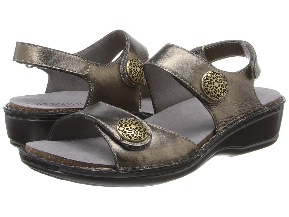 Aravon Candace (Pewter) Sandals