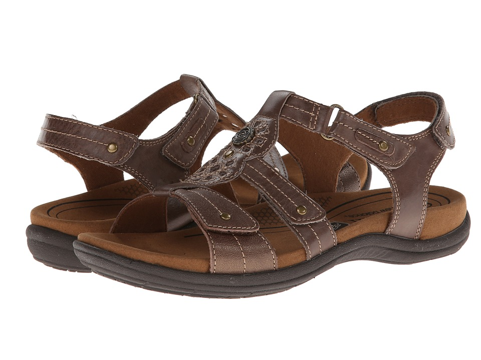 Cobb Hill REVsoothe Stone Womens Sandals