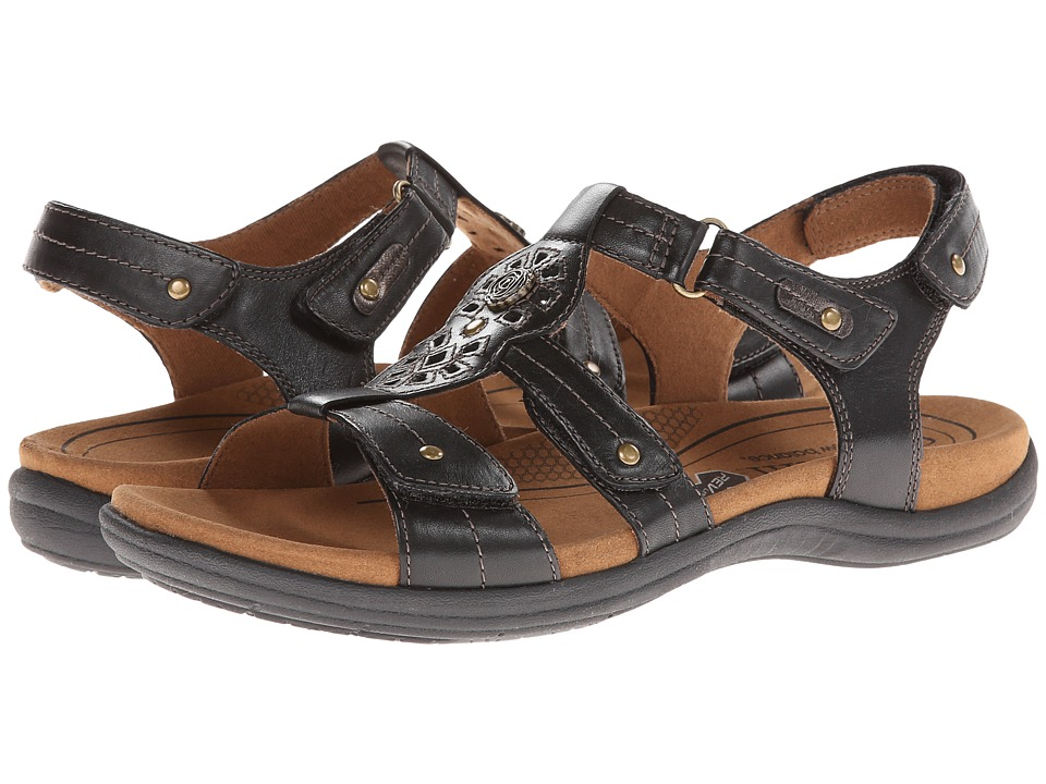 Cobb Hill REVsoothe Black Womens Sandals