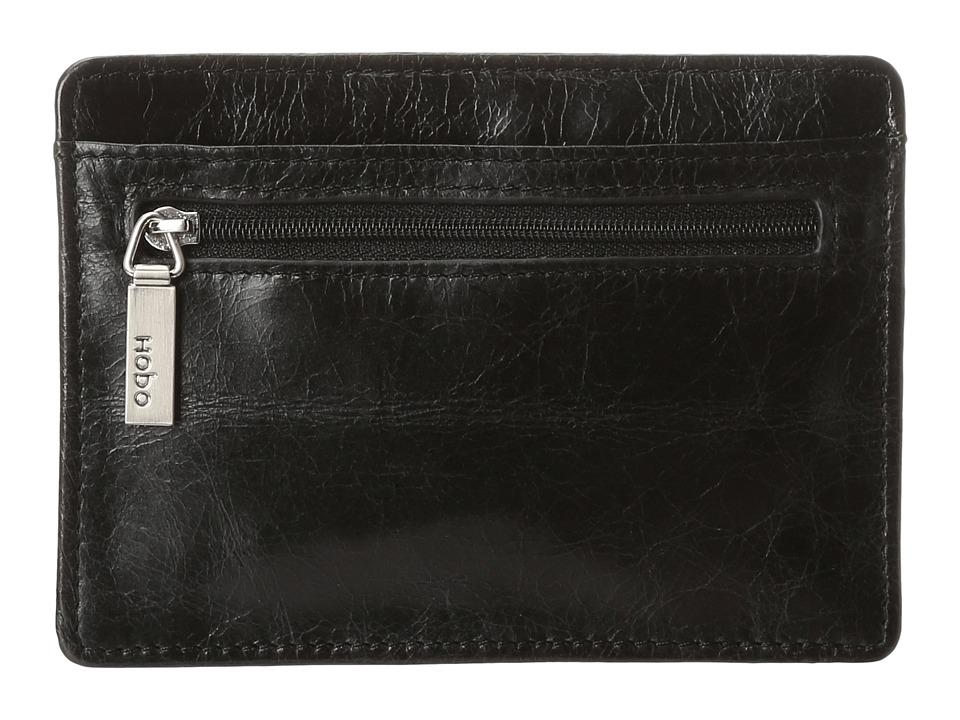 Hobo - Euro Slide (Black Vintage Leather) Wallet