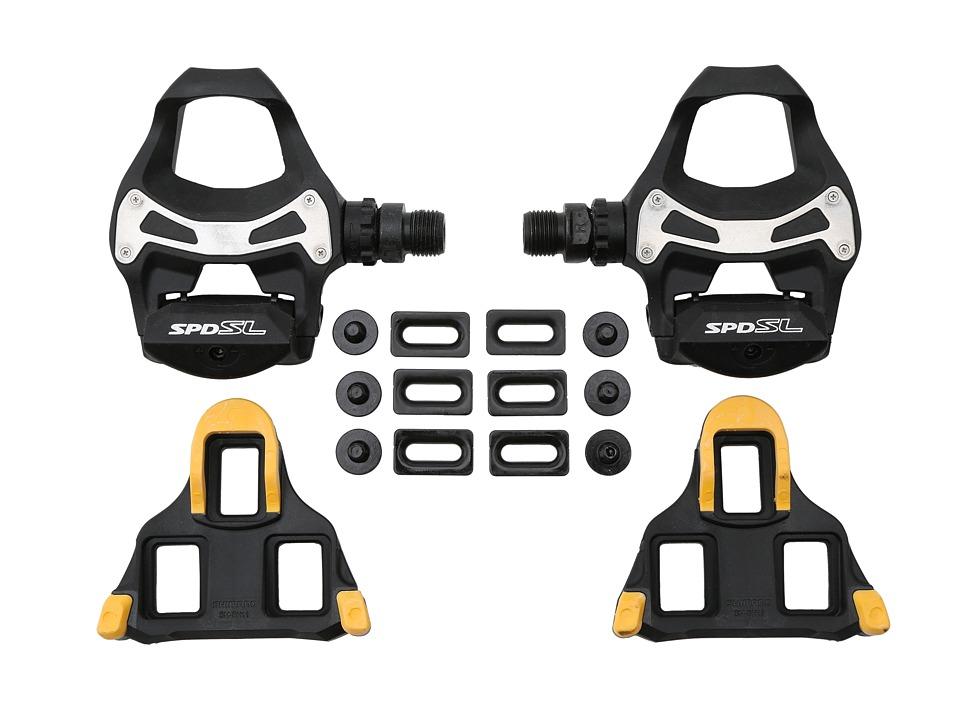 Shimano PD R550 Road SPD SL Pedal Black Athletic Sports Equipment