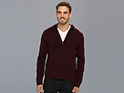 Elie Tahari - Eli French Terry Hoodie J953H503 (Dried Prune Melange) - Apparel