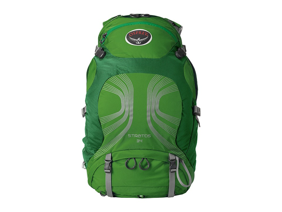 Osprey - Stratos 34 (Pine Green) Backpack Bags