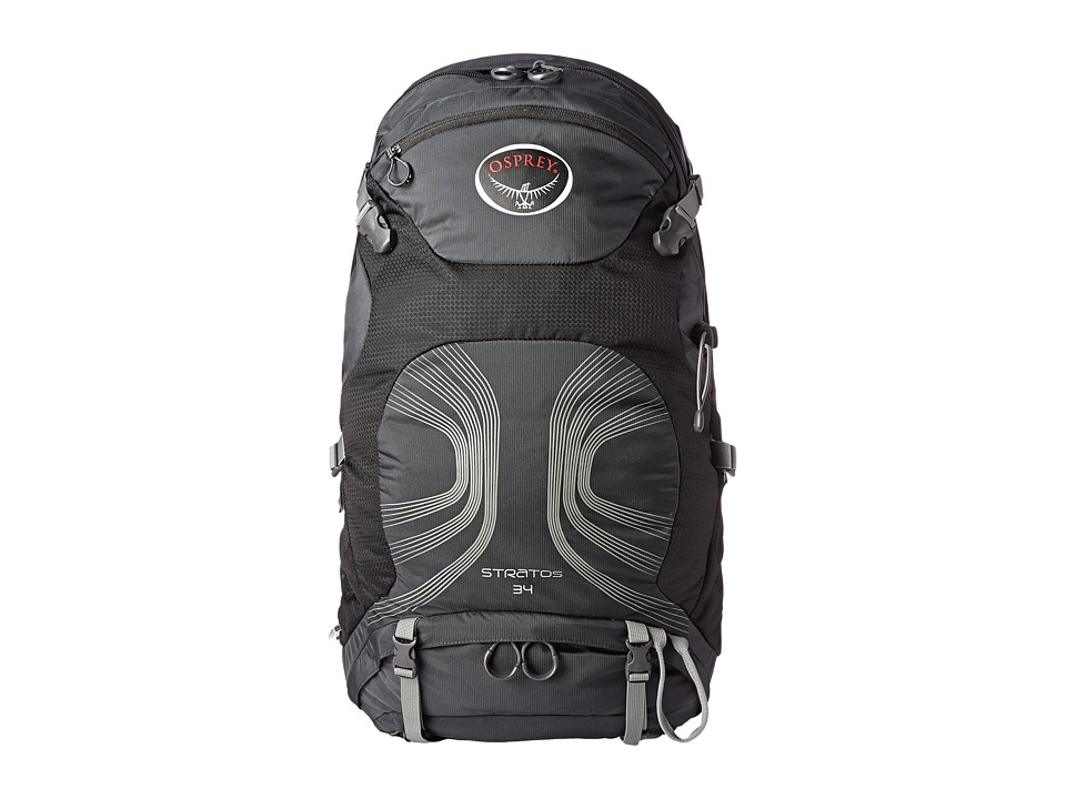 Osprey - Stratos 34 (Anthracite Black) Backpack Bags