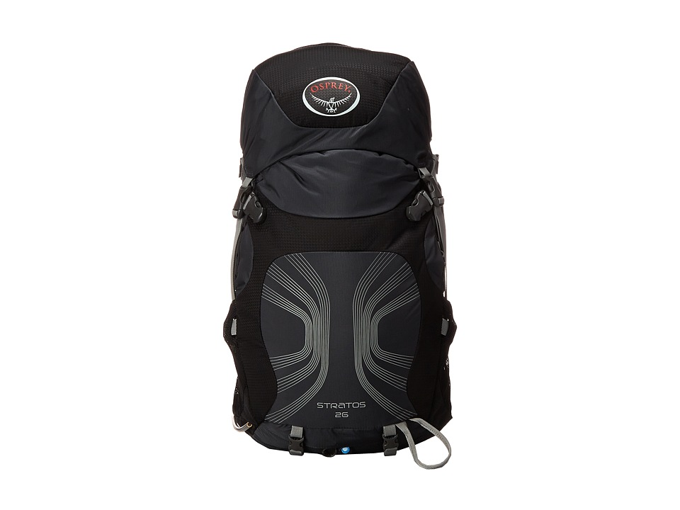 Osprey - Stratos 26 (Anthracite Black) Day Pack Bags