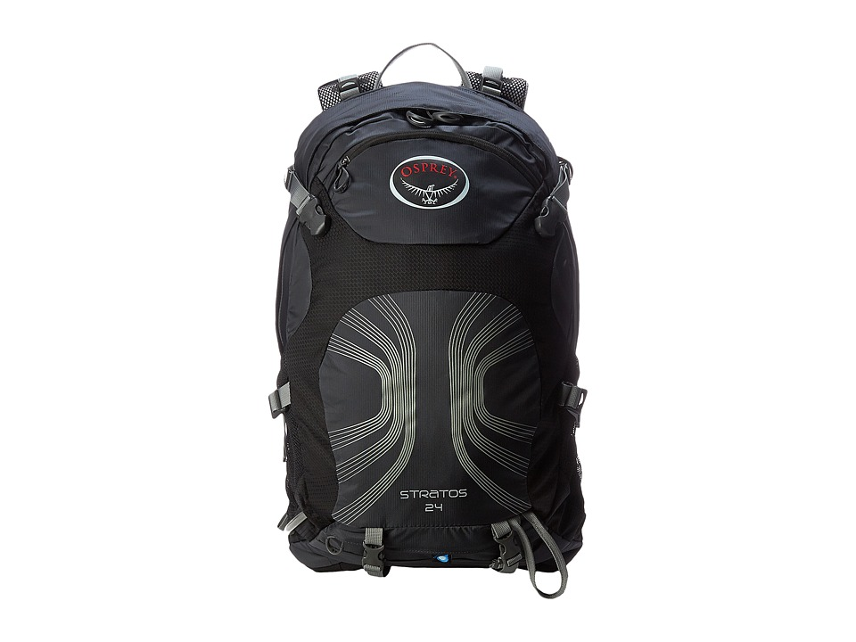Osprey - Stratos 24 (Anthracite Black) Day Pack Bags