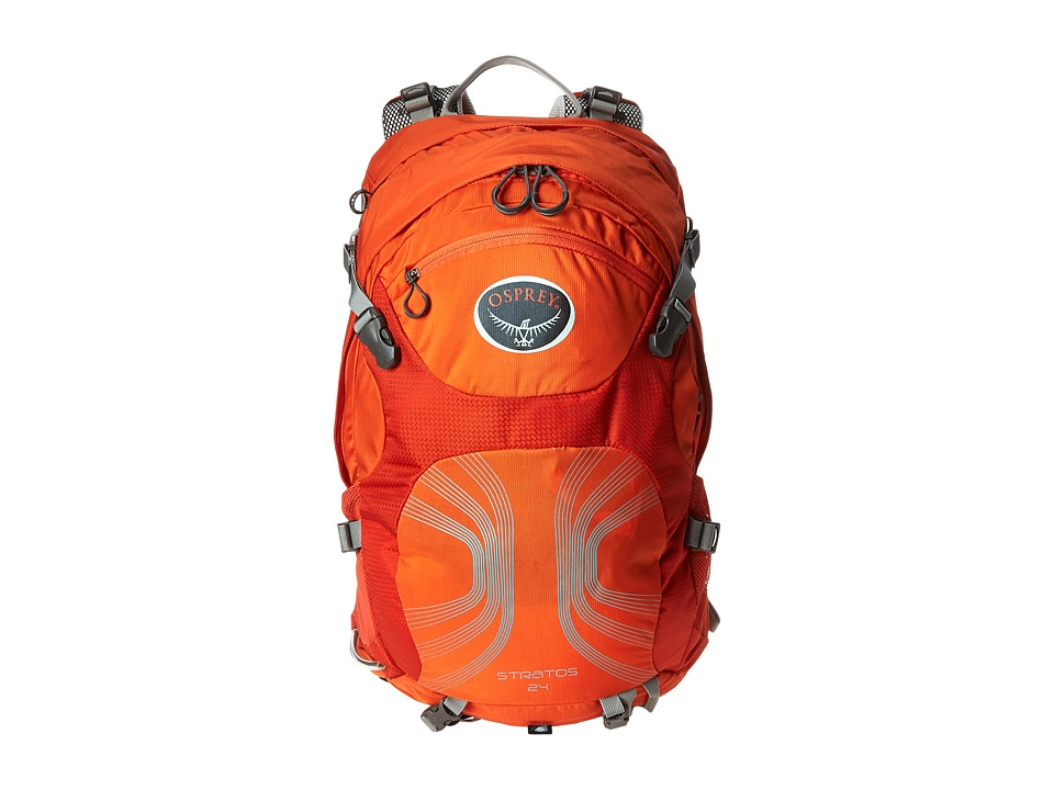 Osprey - Stratos 24 (Solar Flare Orange) Day Pack Bags