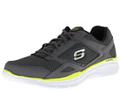 SKECHERS - Cool Memory Foam (Charcoal) - Footwear
