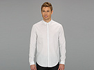 Elie Tahari - Striped Steve Shirt J805M503 (White) - Apparel