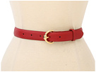 LAUREN Ralph Lauren 1 Faux Stingray Belt w/ Equestrian Buckle