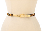 LAUREN Ralph Lauren 1/2 Haircalf Belt w/ Letter Opener Buckle