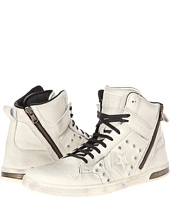 Converse by John Varvatos - Weapon Zip Hi - Hidden Hardware Leather