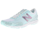 New Balance W1600 White, White Mint Shoes
